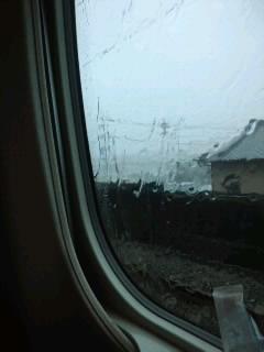 台風で足止め!(-.-;)