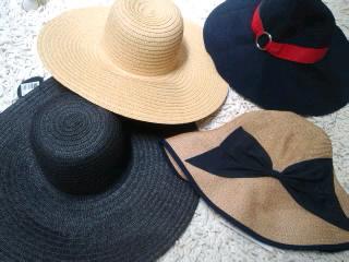 今年の帽子(*^o^*)