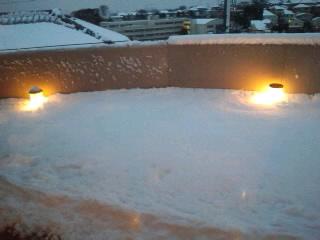 雪〜(≧∇≦)
